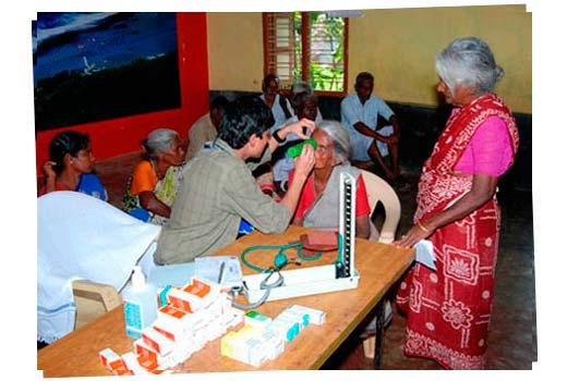 An image from Eye screening camps at Tiruvallur